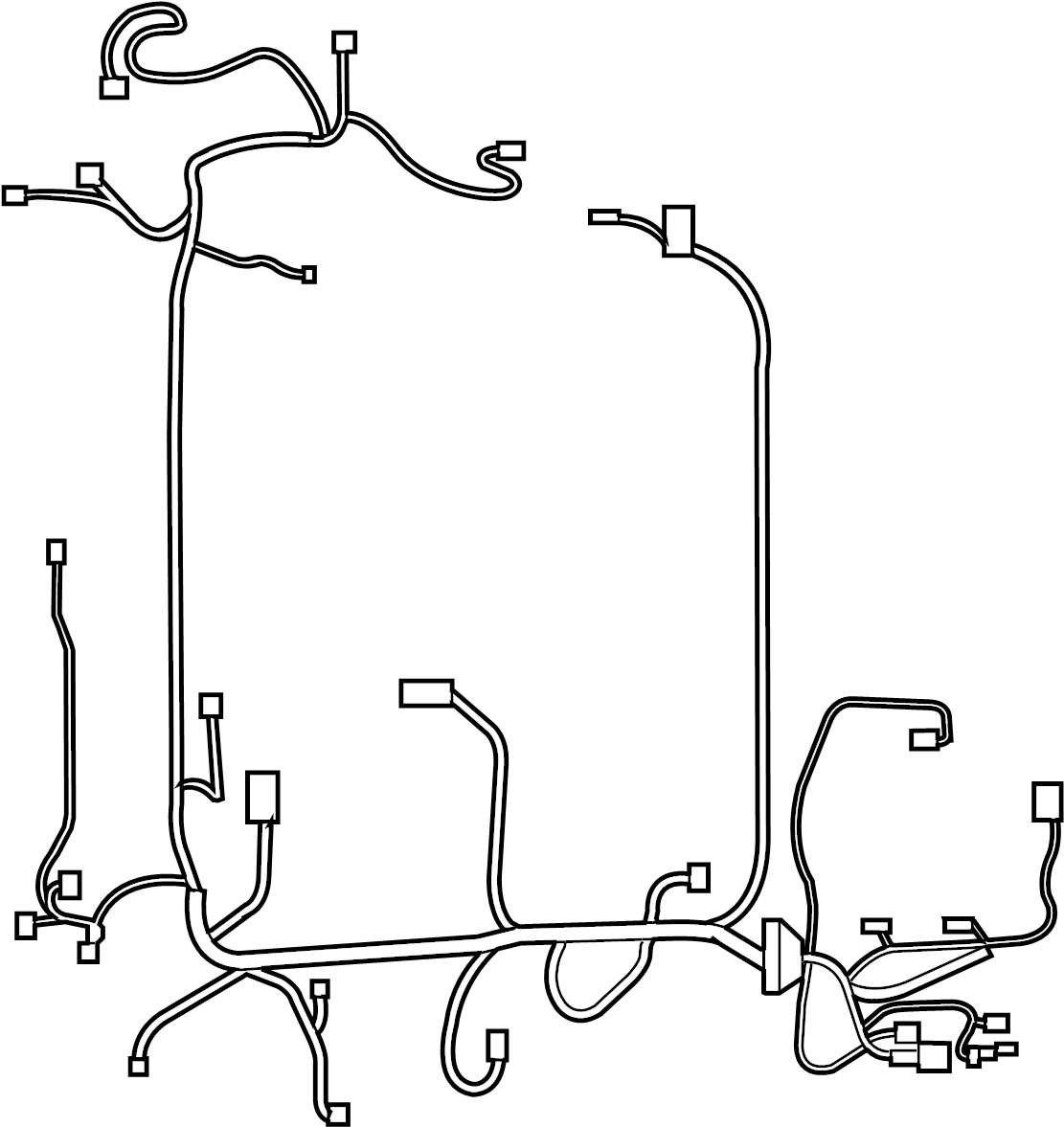 nissan sentra engine wiring harness  room  other