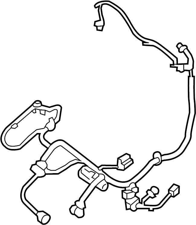 Nissan Pathfinder Power Seat Wiring Harness  Left  Front   Other