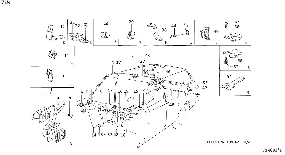 Datsun 610w Cable Batt      Manual  Wiring