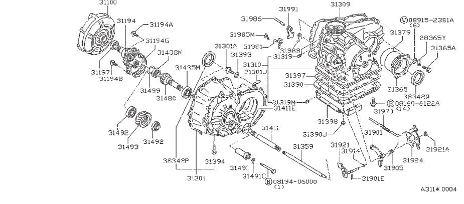 Nissan Stanza Engine Expansion Plug