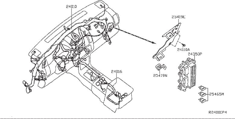 Nissan Frontier Harness Body  Other