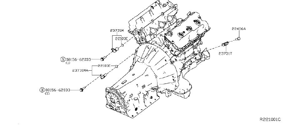 Nissan Xterra Engine Crankshaft Position Sensor