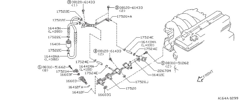 Nissan 300zx Fuel Injector O-ring